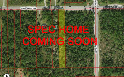 3040 GOLDEN GATE BLVD. E. NAPLES FL 34120 – Spec Home Coming Soon