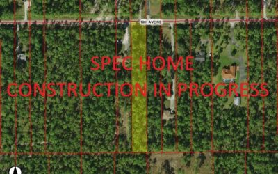 3544 10TH AVE. NE. NAPLES, FL.34120 – SPEC HOME CONSTRUCTION IN PROGRESS